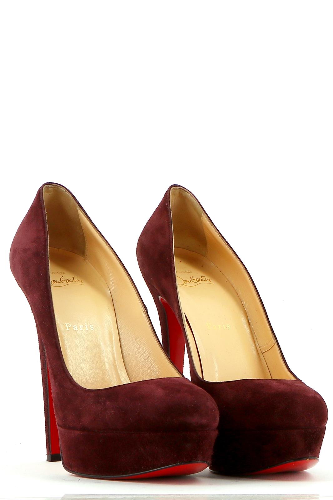 chaussures louboutin bordeaux