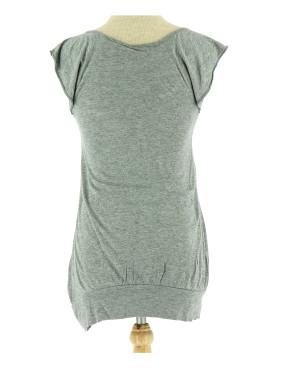 Vetements Tee-Shirt NAF NAF GRIS