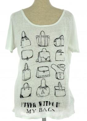 Tee-Shirt 123 Femme FR 40