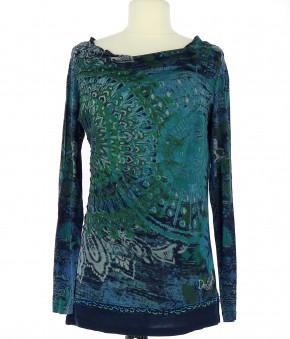 Tee-Shirt DESIGUAL Femme FR 40