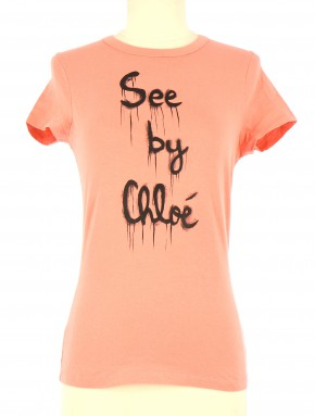 Tee-Shirt SEE BY CHLOE Femme S