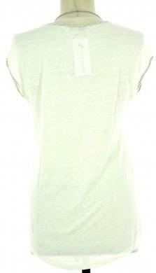Vetements Tee-Shirt SANDRO BLANC