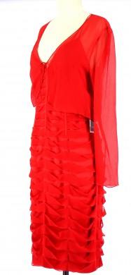 Vetements Robe PRINTING ROUGE