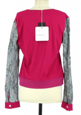 Vetements Gilet LYT BY VOYAGE FUSCHIA