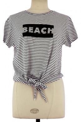 Tee-Shirt MANGO Femme M