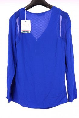 Vetements Blouse NAF NAF BLEU MARINE