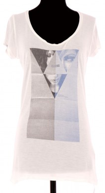 Vetements Tee-Shirt GUESS BLANC