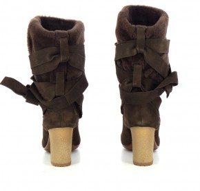 Chaussures Bottes VIC MATIé MARRON