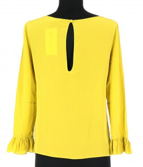 Vetements Blouse PATRIZIA PEPE JAUNE