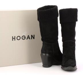 Chaussures Bottes HOGAN NOIR