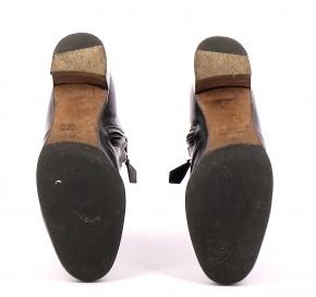 Chaussures Bottines / Low Boots HERMÈS NOIR