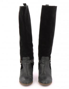 Chaussures Bottes COMPTOIR DES COTONNIERS NOIR