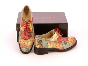 Chaussures Derbies FREE LANCE MULTICOLORE
