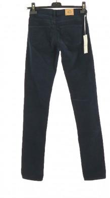Vetements Pantalon BISCOTE BLEU MARINE