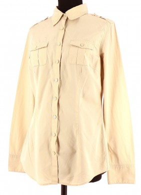 Vetements Chemise TOMMY HILFIGER BEIGE
