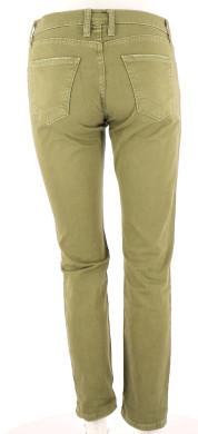 Vetements Pantalon CURRENT ELLIOTT VERT FONCé