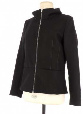 Vetements Manteau DESIGUAL NOIR