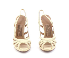 Chaussures Sandales SALVATORE FERRAGAMO BEIGE