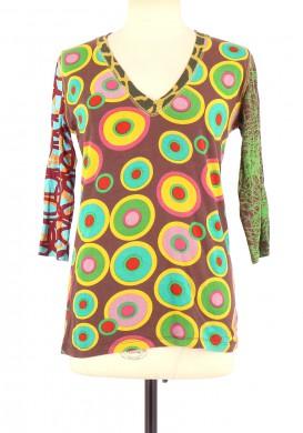 Tee-Shirt DESIGUAL Femme XL
