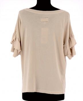 Vetements Tee-Shirt CURRENT ELLIOTT BEIGE