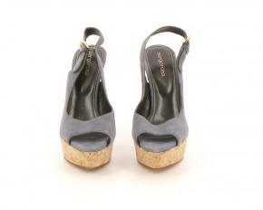 Chaussures Sandales SERGIO ROSSI  BLEU