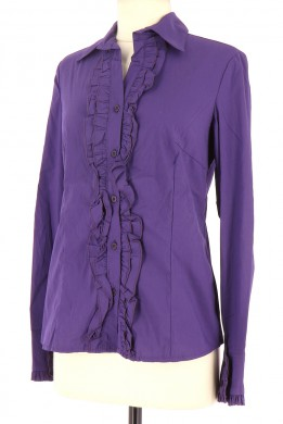 Vetements Chemise LA FEE MARABOUTEE VIOLET