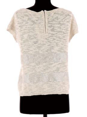 Vetements Tee-Shirt NAF NAF BEIGE