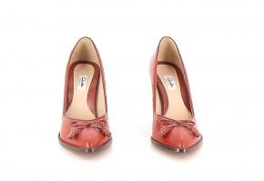 Chaussures Escarpins CLARKS ROUGE
