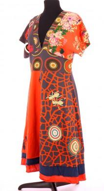 Vetements Robe DESIGUAL ORANGE