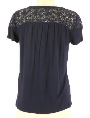 Vetements Tee-Shirt MAJE BLEU MARINE