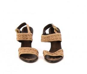 Chaussures Sandales BOTTEGA VENETA MARRON