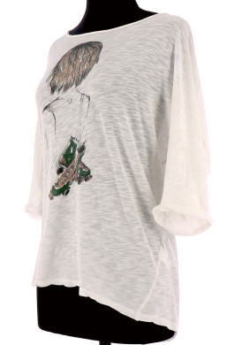 Vetements Tee-Shirt MAJE BLANC