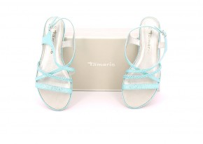 Chaussures Sandales TAMARIS TURQUOISE