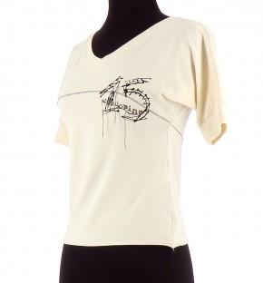 Vetements Tee-Shirt COP COPINE BEIGE