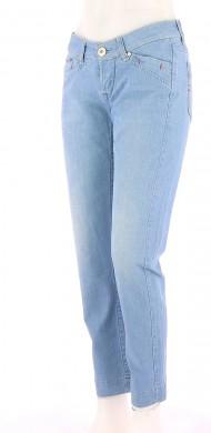 Vetements Jeans MARITHE ET FRANCOIS GIRBAUD BLEU CLAIR