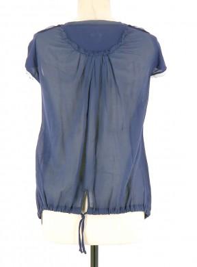 Vetements Tee-Shirt MARITHE ET FRANCOIS GIRBAUD BLEU MARINE