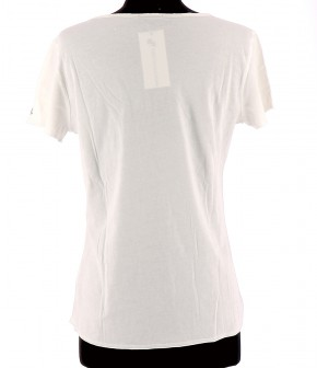 Vetements Tee-Shirt IKKS BLANC