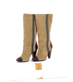 Chaussures Bottes BIMBA Y LOLA BEIGE
