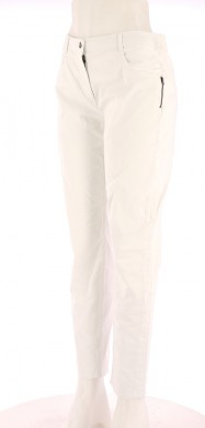 Vetements Pantalon CAROLL BLANC