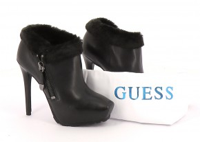 Chaussures Bottines / Low Boots GUESS NOIR