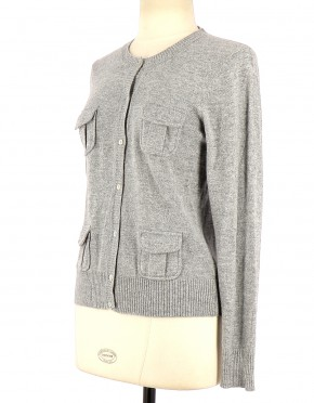 Vetements Gilet CAROLL GRIS