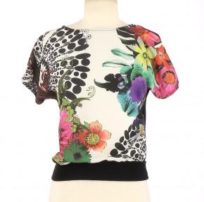 Tee-Shirt DESIGUAL Femme S