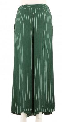 Vetements Pantalon CAROLL VERT FONCé