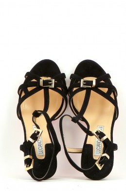 Chaussures Sandales LUCIANO PADOVAN NOIR