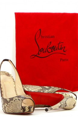 Chaussures Sandales CHRISTIAN LOUBOUTIN BEIGE