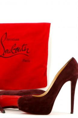 Chaussures Escarpins CHRISTIAN LOUBOUTIN BORDEAUX