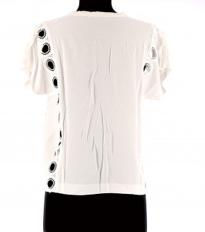 Vetements Top SANDRO BLANC