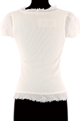 Vetements Tee-Shirt LA FEE MARABOUTEE BLANC