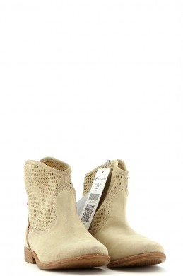 Chaussures Bottines / Low Boots GEOX BEIGE
