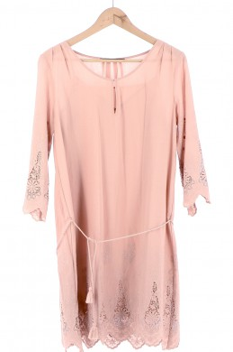 Vetements Robe COMPTOIR DES COTONNIERS ROSE